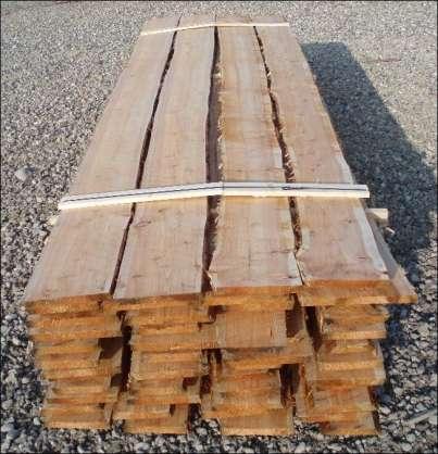 Vore kalmarbrædder er med afbarkede naturkanter - dvs. uden bark -> Flotte og rustikke!
