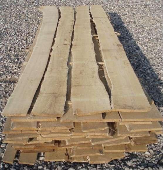 Kalmar Brædder - blokvarer i Robinie (løvtræ) - ubehandlede - Til beklædning af havehegn, bålhytte, legehuse mv. kan